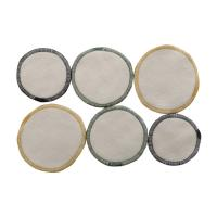 Cheap Soft Bamboo Make Up Remover Pads , Reusablefacial Cleansing Cloths Rounds Customized Size Available for sale