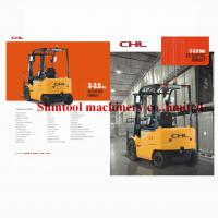Quality Custom 3.5ton Electric Forklift Truck 4-wheel With 500mm Load Centre CPD35 wholesale