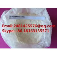 Cheap Raw Steroid Hormone powder Clostebol acetate / Turinabol For Man Muscle Growth for sale