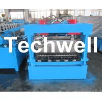 Cheap 1250mm Material Width, Steel Metal Corrugated Panel Forming Machine With Punching for sale