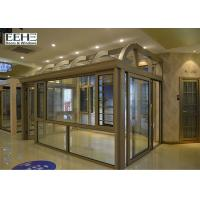 Cheap All Season Glass Enclosed Sunroom With Silicone Sealant Sealing Customized Color for sale