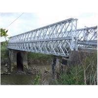 Cheap Q345B - Q460C Grade Steel Bailey Bridge Fabrication for sale