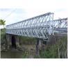 Buy cheap Q345B - Q460C Grade Steel Bailey Bridge Fabrication from wholesalers