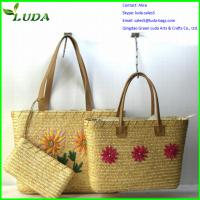 Cheap 2014 popular cheap wheat straw bags for crafts for sale