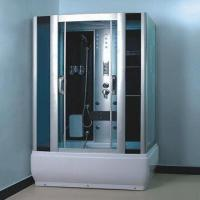 Cheap Steam Shower Room with Aluminum Alloy Frame and ABS Tray for sale