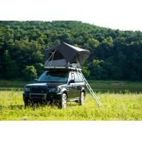 Buy cheap Outdoor Adventure Car Roof Camper Tent , 2 Person Aluminium Roof Top Tent from wholesalers
