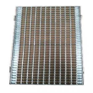 China Zinc Welded Walkway Walk Mesh Steel Grid Grill Grates Grating 25~40 mm Height on sale