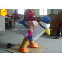 Cheap Airblown Chicken Inflatable Rooster Costume Fully Inflates For Theme Game for sale