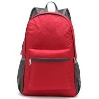 Cheap Custom Stylish Economic  Outdoor Sports Backpack Red for Outdoor Travel for sale