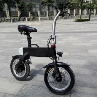 Cheap Black Rear Wheel Portable Electric Bike To Transporter Indoor And Ourdoor wholesale
