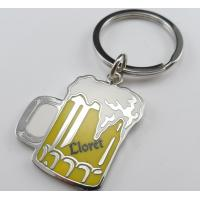 Cheap cheap personalized promotional keychains for beer events and club for sale
