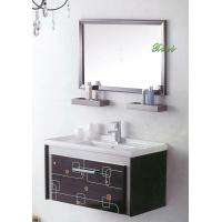 Bathroom vanities with cabinets bathroom vanities with for Floor standing mirrored bathroom cabinet