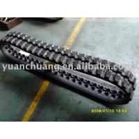 Cheap Rubber Crawler,rubber track,harvester for sale