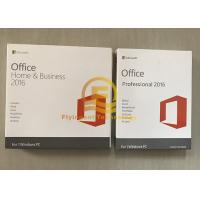 Cheap Microsoft Office Home And Business 2016 PKC Version 64 Bit OEM New Key for sale