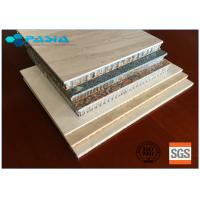 Cheap Customized Stone Facing Honeycomb Panel Of Wear-Resistant High-grade Furniture Decoration Materials for sale