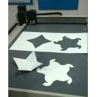 China paper box sample making cutting table on sale
