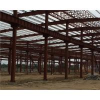 Cheap Q235 / Q345 Pipe Truss Large Steel Building Workshop Durable Fabrication Steel Structures for sale