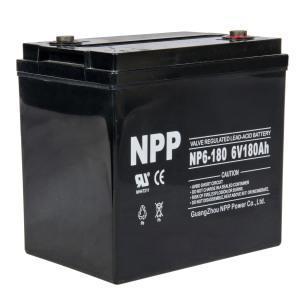 Cheap Lead Acid Battery 6V 180AH for sale