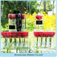 Cheap Newest and High Quality OEM Plastic Wholesale Acrylic Flower Acrylic Box wholesale