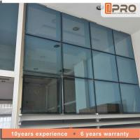 Cheap Unitized Panel Aluminium Curtain Wall For Commercial Building Customized Size for sale