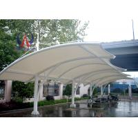 Cheap Steel Sling Tightened Sail Car Parking Tensile Structure Car Shade Shelters UVA Resistant wholesale