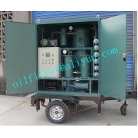 Cheap ZYD-M Mobile Trailer Transformer Oil Filtration Plant,Trolley Mounted Oil Purifier With Covers,Color Optional,4 Wheels for sale