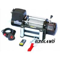 Cheap Steel Heavy Duty Truck Winch , 12000lbs Atv Electric Winch With Steel Rope for sale