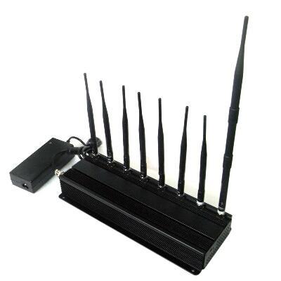 14 Antennas Cell Jammer - 5 Antennas XM Radio Jamming