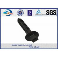 China Railway Sleeper Fixing Black Oxide Screws UIC864-1 NF F500-50 Standard on sale