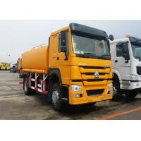HW76 Cab Water Sprinkler Truck , 400L Tank Water Carrier Truck With 290HP Engine