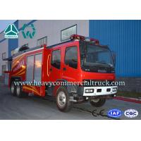 Cheap Electronic System High Pressure Fire Extinguisher Truck With Fume Remove device for sale