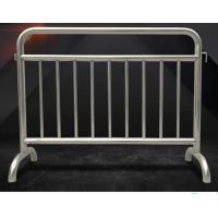 Cheap Fixed Leg Interlocking Metal Fence Accessories Stainless Steel 304 316 Barricade For Concert for sale