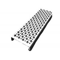 Cheap Aluminum Galvanized Steel Grip Strut Grating , Perforated Grating Stair Treads for sale