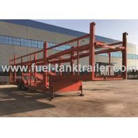 Double Layer Car Carrier Trailer Simple Structure Large Loading Space Double Axle