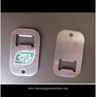 Cheap Professional manufacturer supplier compact low price blank metal bottle opener tag for sale