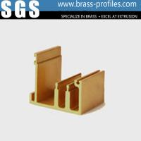 China Customized Sizes Copper Frames Brass Extruded and Window Sections on sale