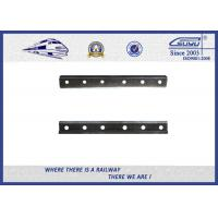 Cheap Plain Surface 50 # Steel Rail Fish Plate 6 Holes For Fixing Rail for sale