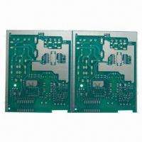 Cheap Double-sided Aluminum Base Circuit Board, HASL Surface Treatment, 0.35mm Minimum Hole Size for sale