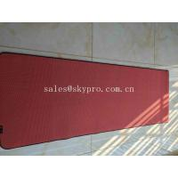 China Comfortable Anti Slip OEM Natural Rubber Yoga Mat Dirt Proof For Promotion on sale