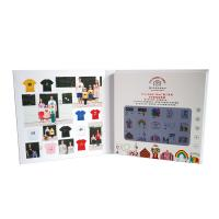 Buy cheap Lithium Rechargeable Digital Video Brochure , Lcd Video Greeting Card With USB from wholesalers