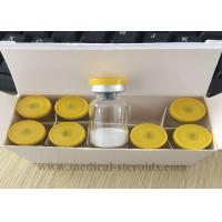 Cheap Raw Human Growth Hormone Peptide Tesamorelin Powder for Body builders wholesale