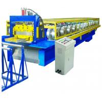 Cheap Auto Operation Standing Seam Metal Roof Machine 12-18m/Min CE SGS Approved for sale