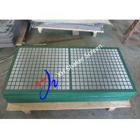 China Steel Frame Swaco Mongoose Shaker Screens With Long Service Time For Mud Cleaner on sale