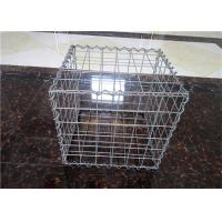 Cheap Stone Cage Retaining Wall Gabion Baskets , Gabion Mesh Cage Easy To Install for sale