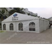 Cheap Outdoor White PVC Fabic Cover UV Resistant Car Exhibition Tent, Aluminum Profile wholesale