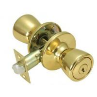 China Commercial Furniture Antique Door Knobs / Brass Push Button Door Knob on sale