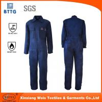 Cheap EN11612 fire proof industry coverall used for Oil & Gas Industry for sale