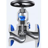 Cheap Through Conduit Pattern Flanged Globe Valve Full Opening with ASTM A 216 Material for sale