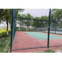 China European Pool Basketball Court Yard Temp Chain Link Fence 4.0mm With Long Life on sale