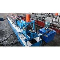 Cheap STEEL Shutter Door Making Machine / Roll Forming  Equipment 0.7mm - 1.2mm Thickness for sale